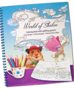 World of Shaboo Paint & Color Book