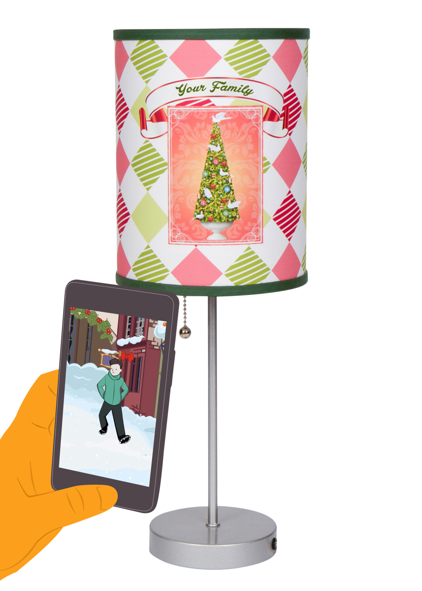 Scanning lamp example